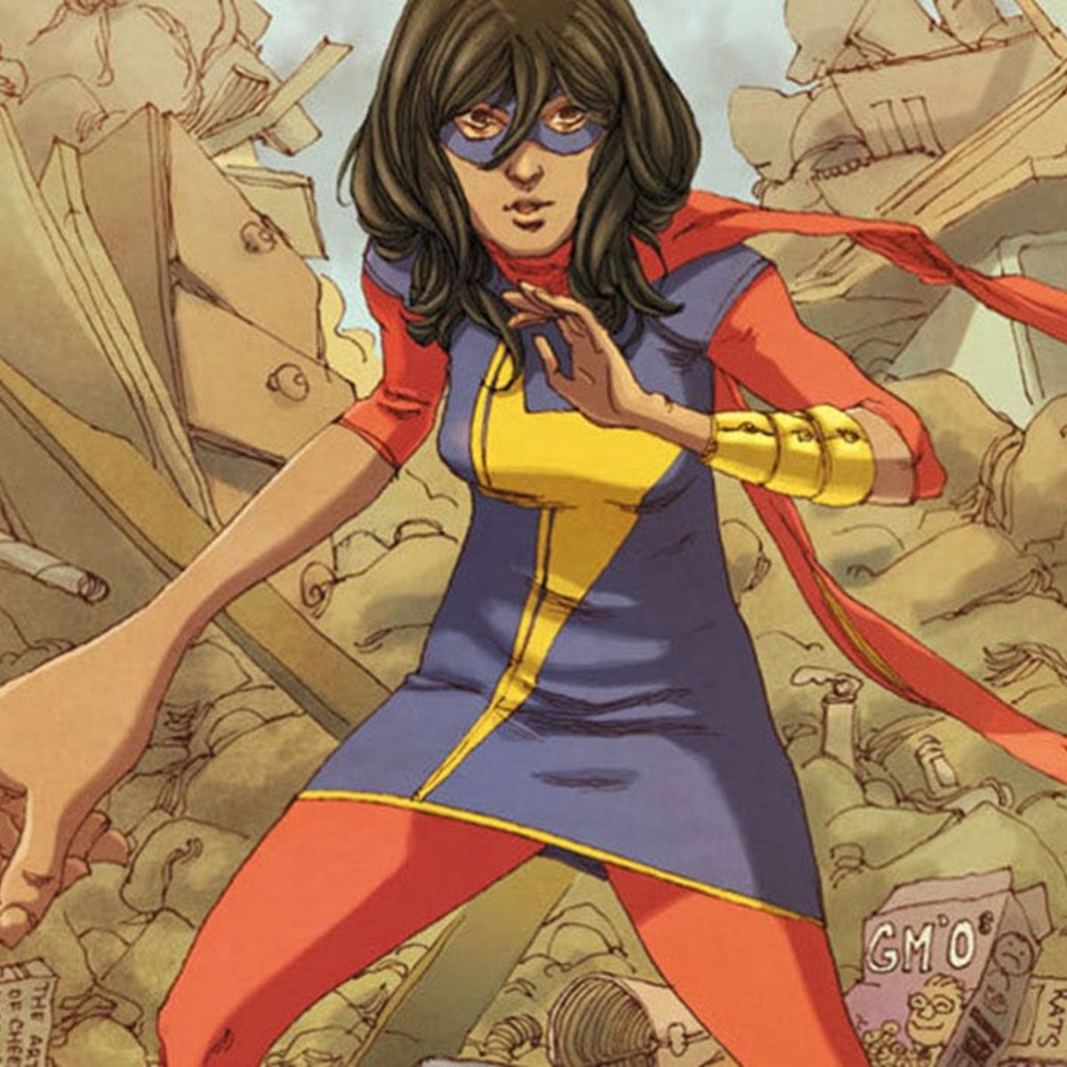 Ms. Marvel, Kamala Khan, Marvel Comics