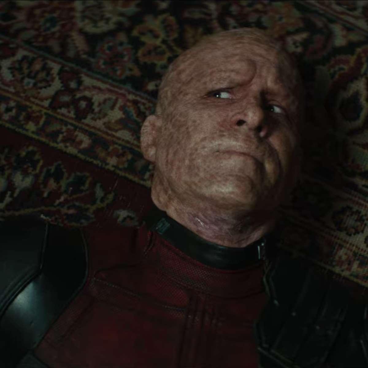 Deadpool 2 on the floor