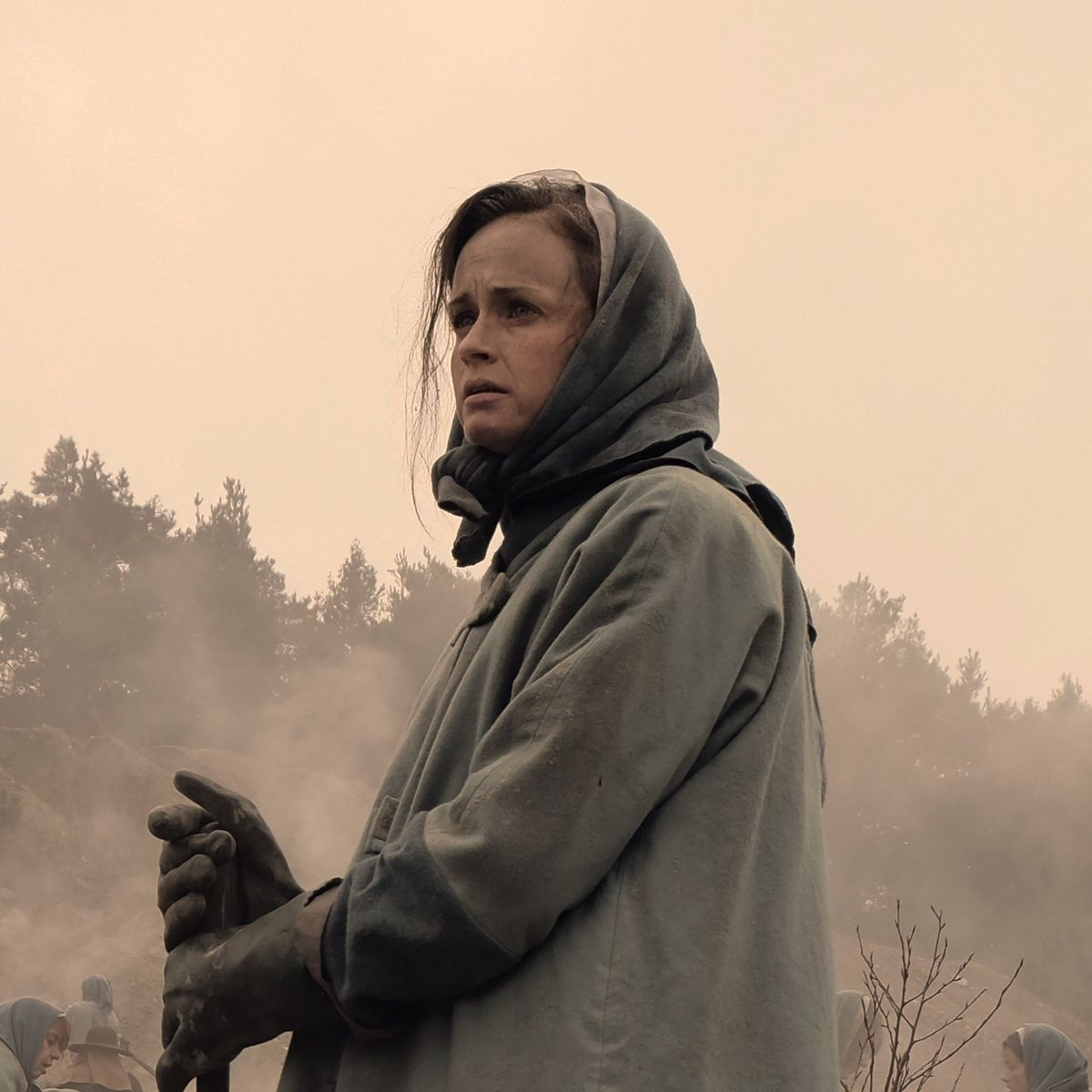 The Handmaid's Tale - Alexis Bledel as Emily in the colonies - cropped header