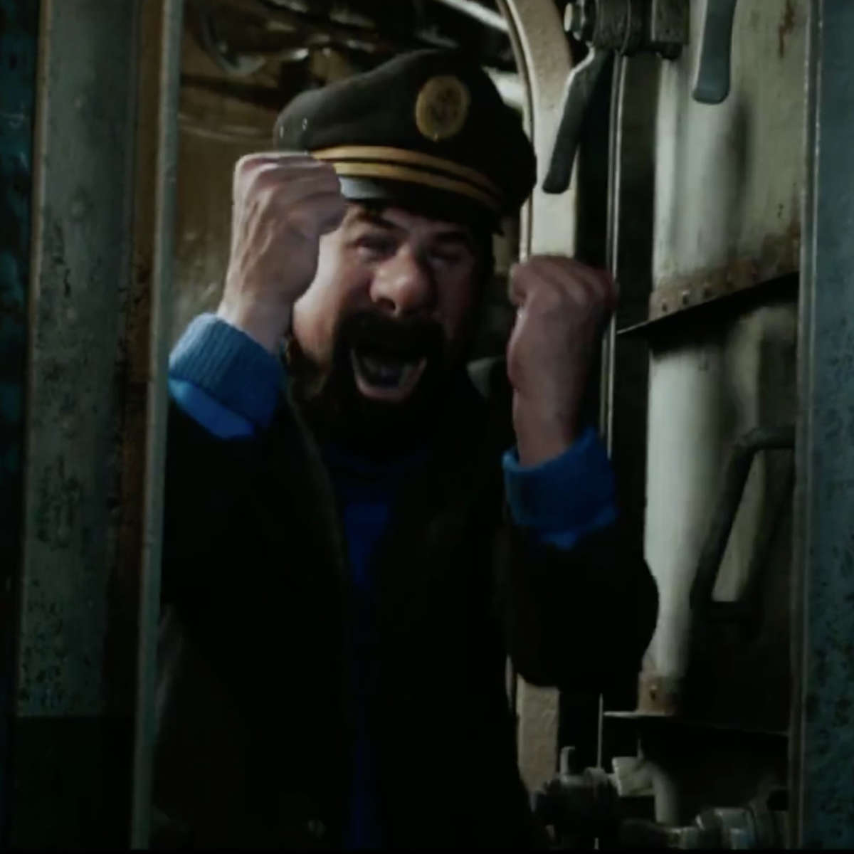 The Adventures of Tintin- Captain Haddock