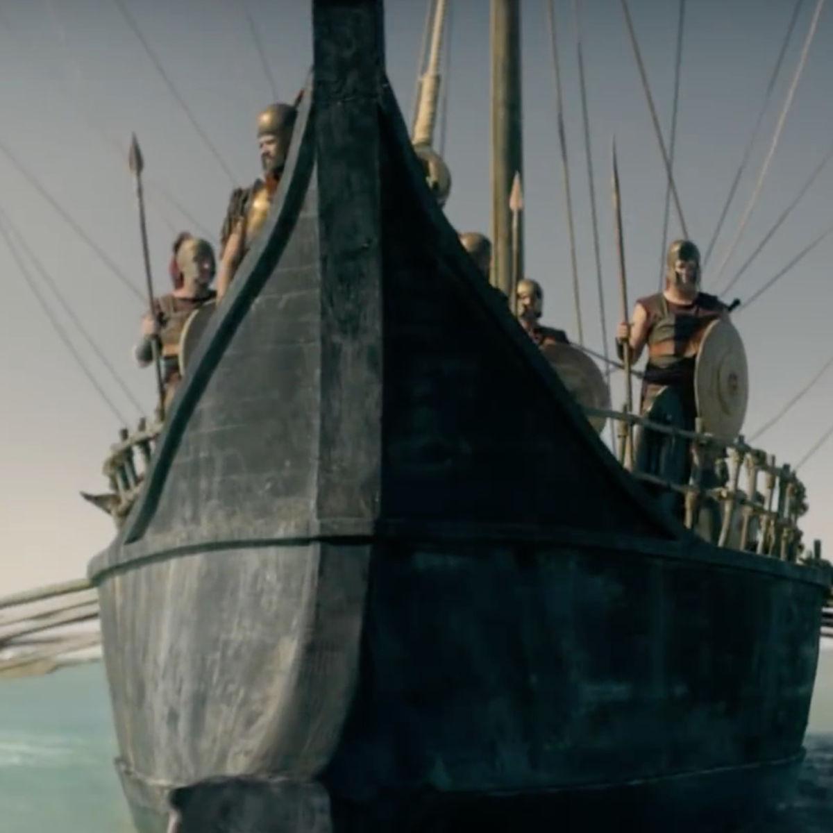 Troy: Fall of a City- Sailing ship