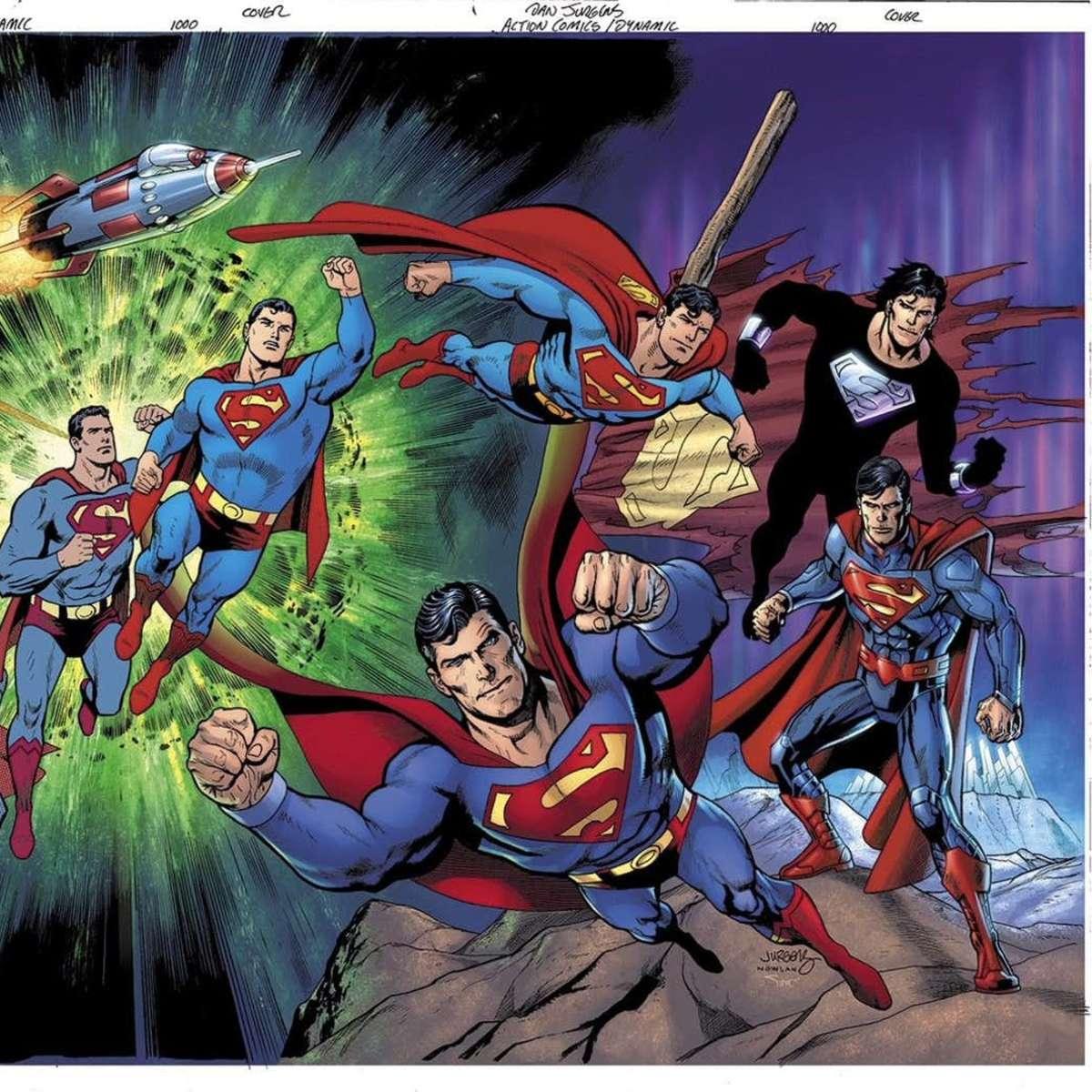 Action Comics #1000 Variant Cover by Dan Jurgens