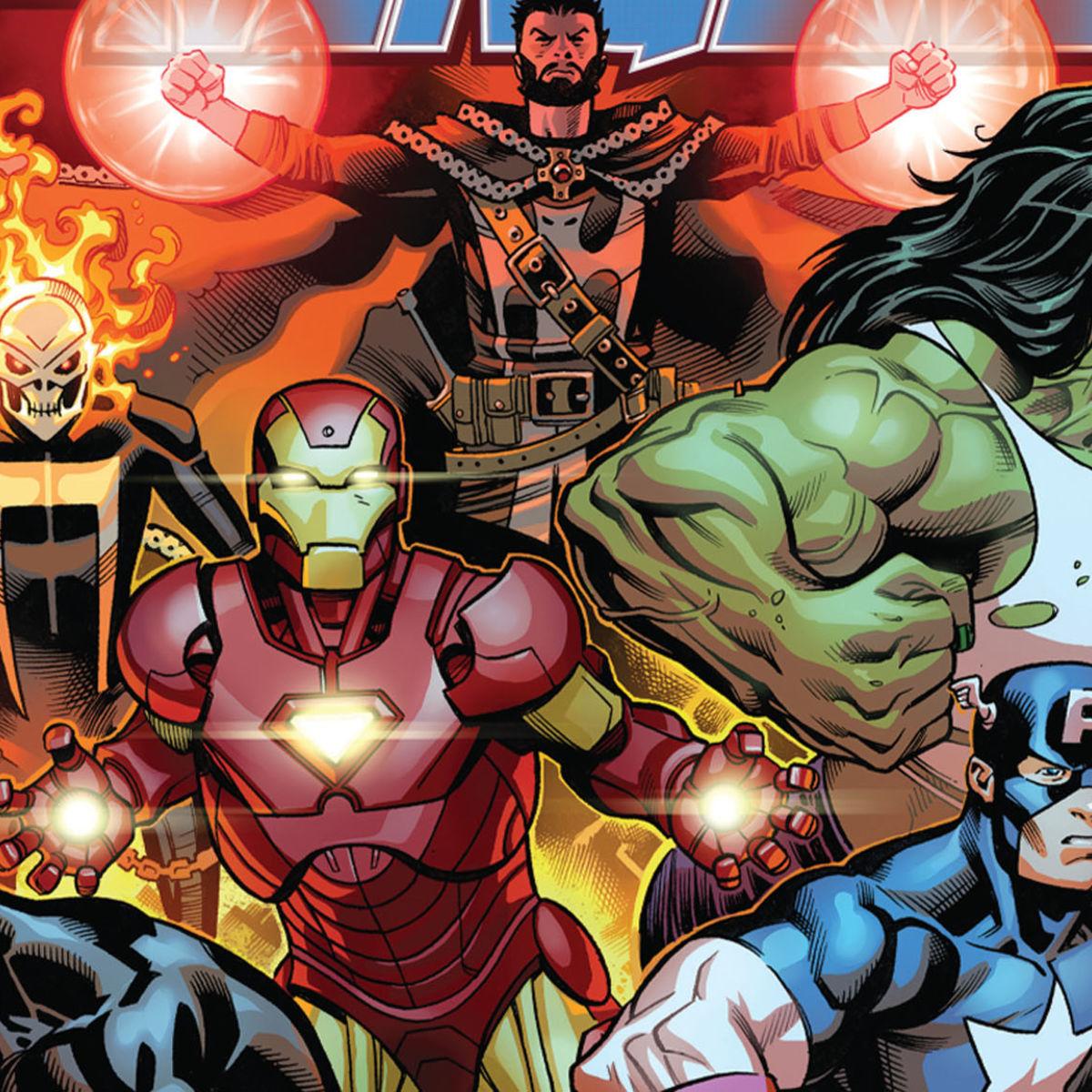 exclusive preview avengers 1 reunites captain america iron man
