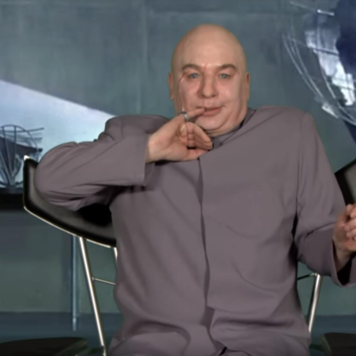 dr evil is back to make the world evil again syfy wire