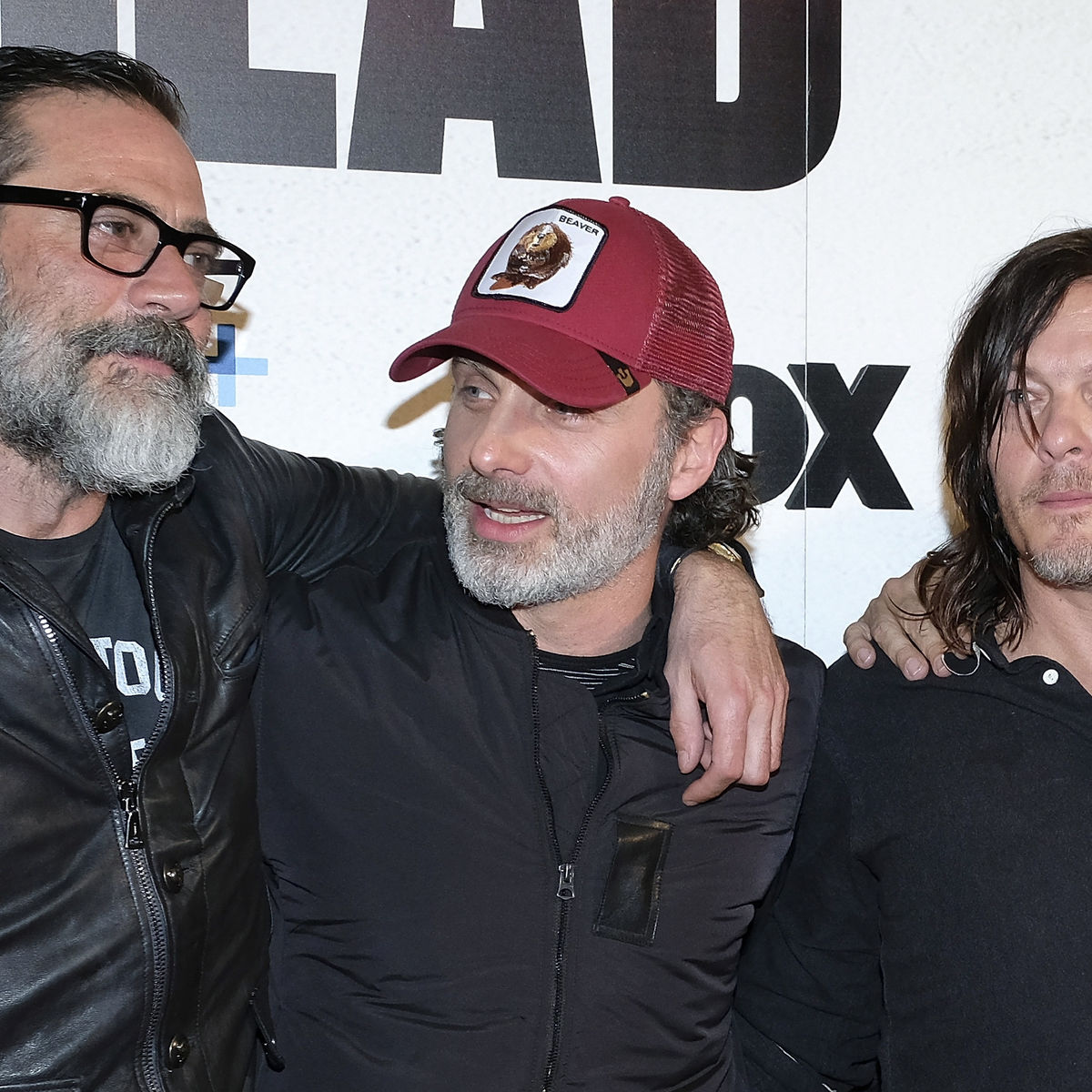 Jeffrey Dean Morgan, Andrew Lincoln, Norman Reedus, The Walking Dead