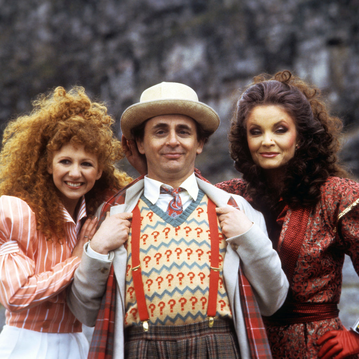Doctor Who Sylvester McCoy, Bonnie Langford, Kate O'Mara