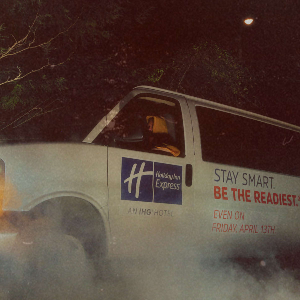 Friday the 13th bus