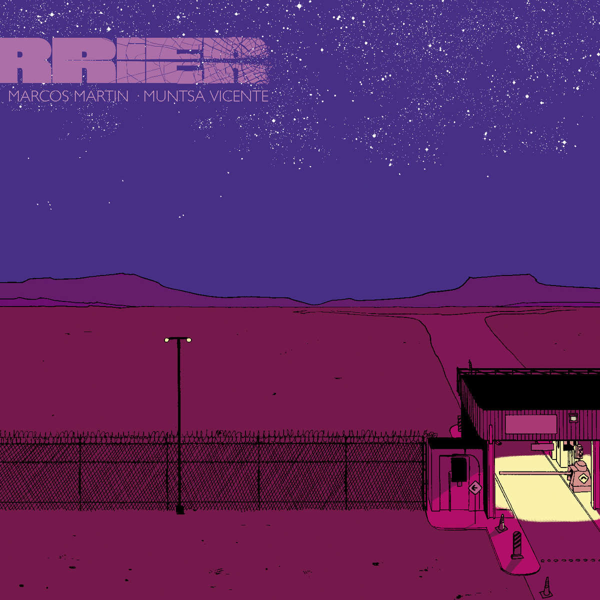 Barrier #1 Cover by Marcos Martin