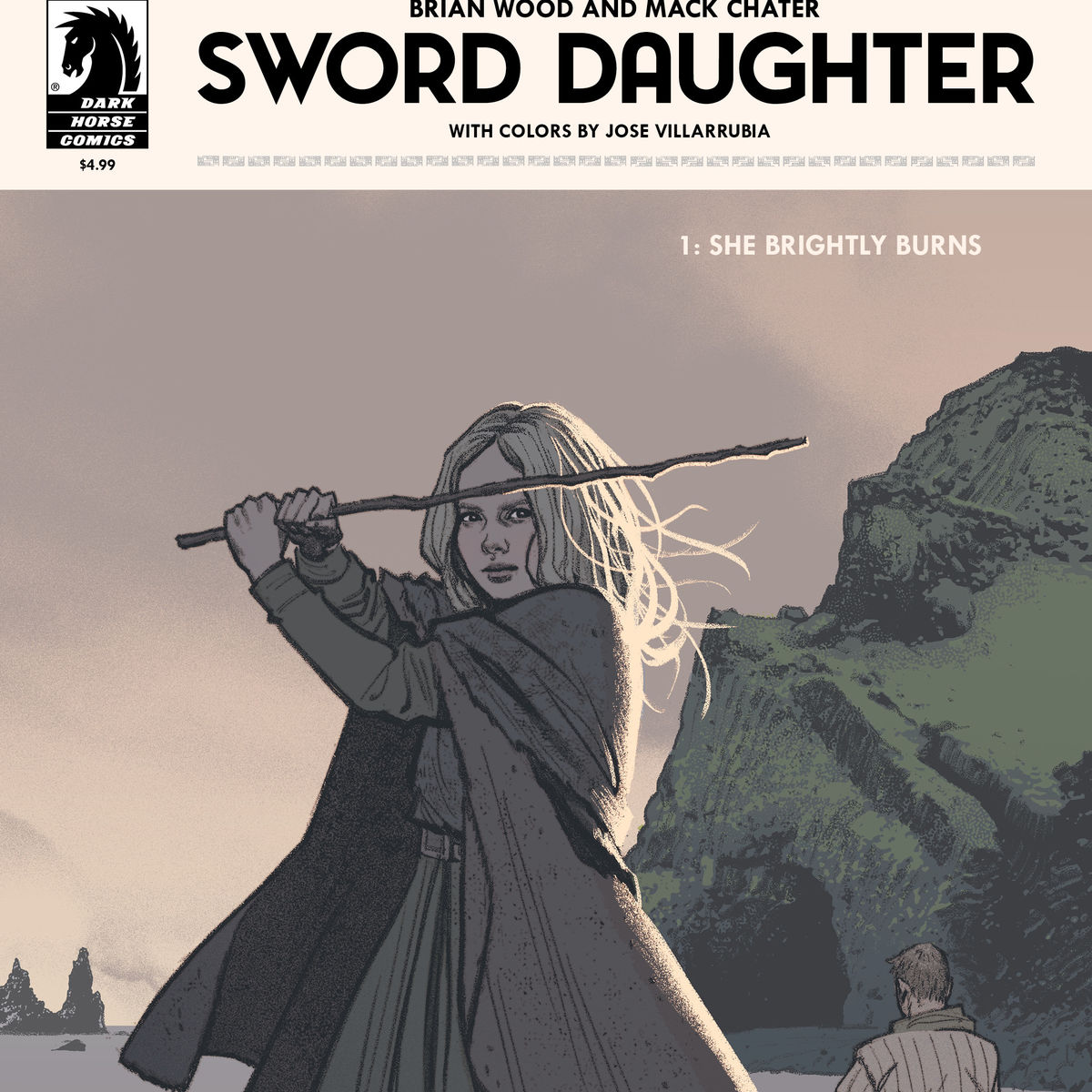 Issue #1 of Sword Daughter