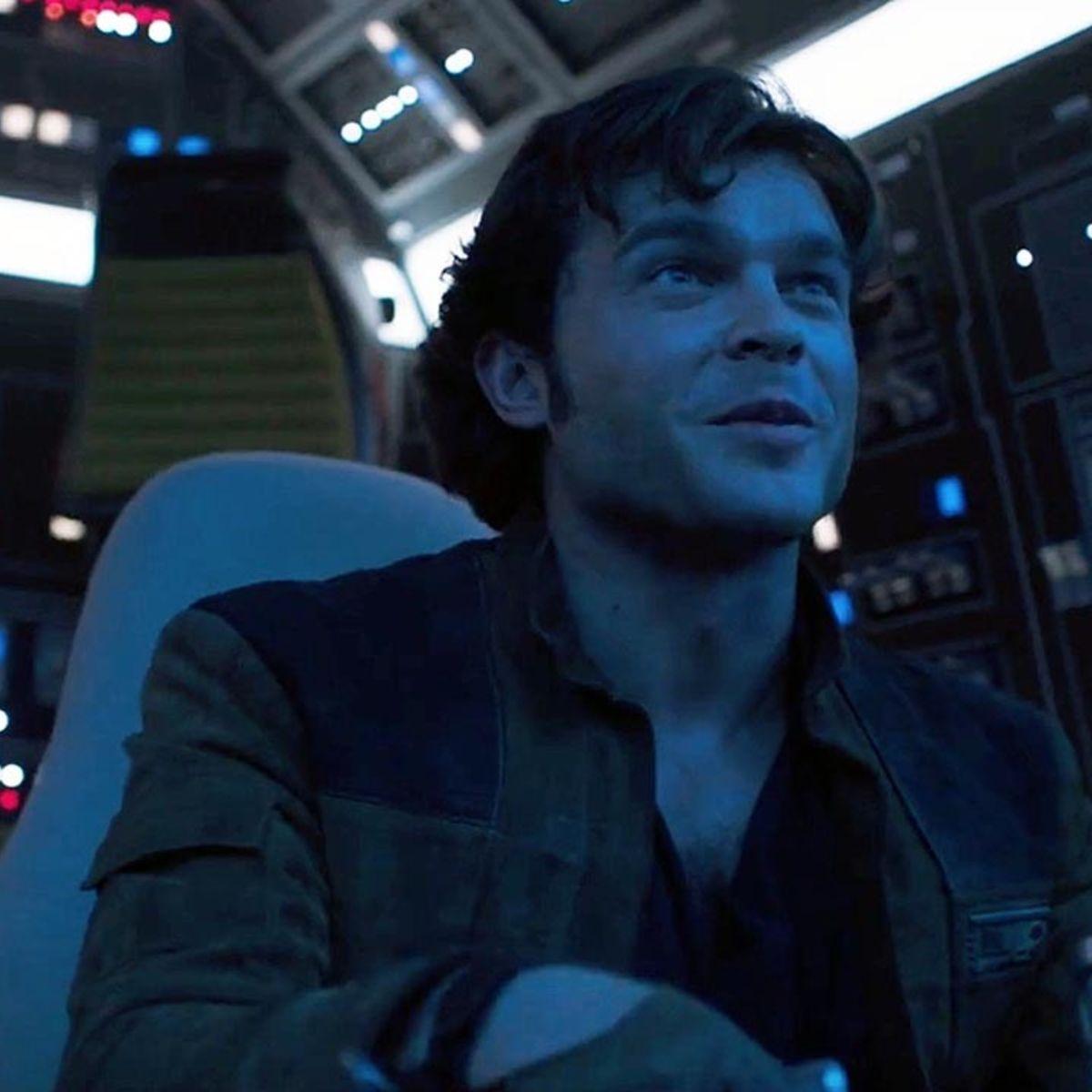 Han Solo in Solo: A Star Wars Story hero