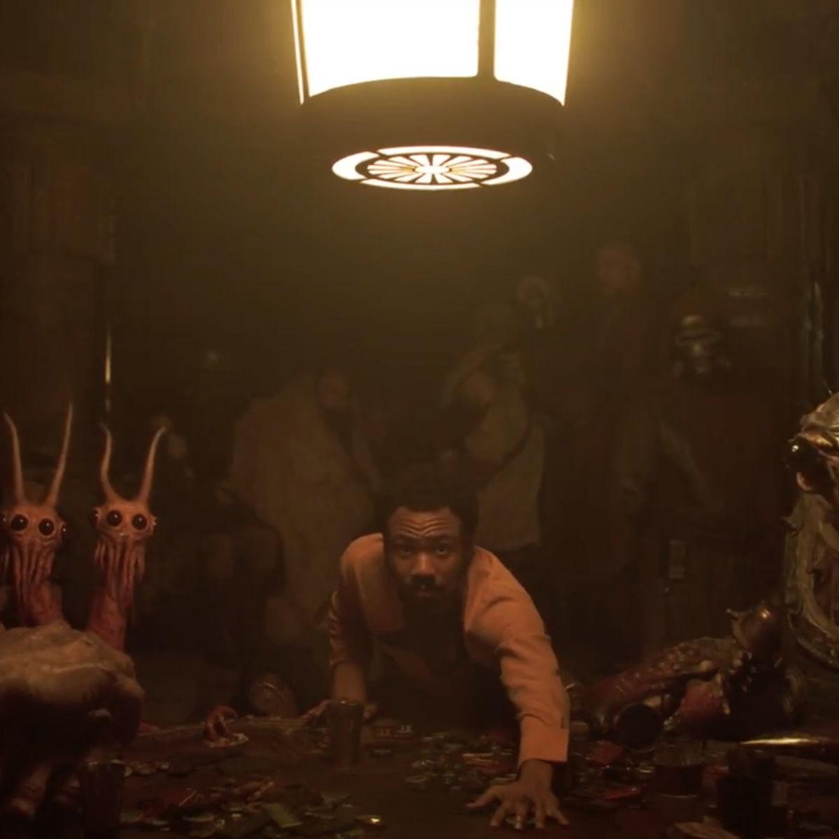Solo trailer 2- Lando's game