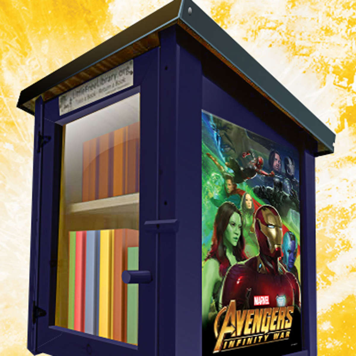 Avengers: Infinity War Pop Up Library