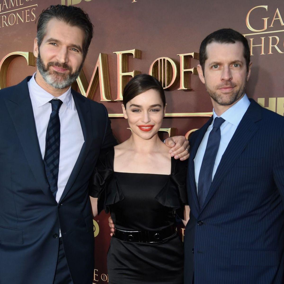 David Benioff Emilia Clarke DB Weiss