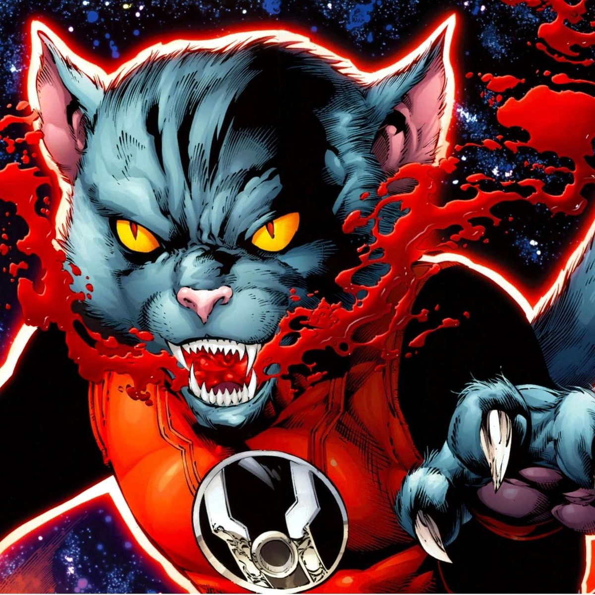 chosen one of the day red lantern dex starr a very good kitty