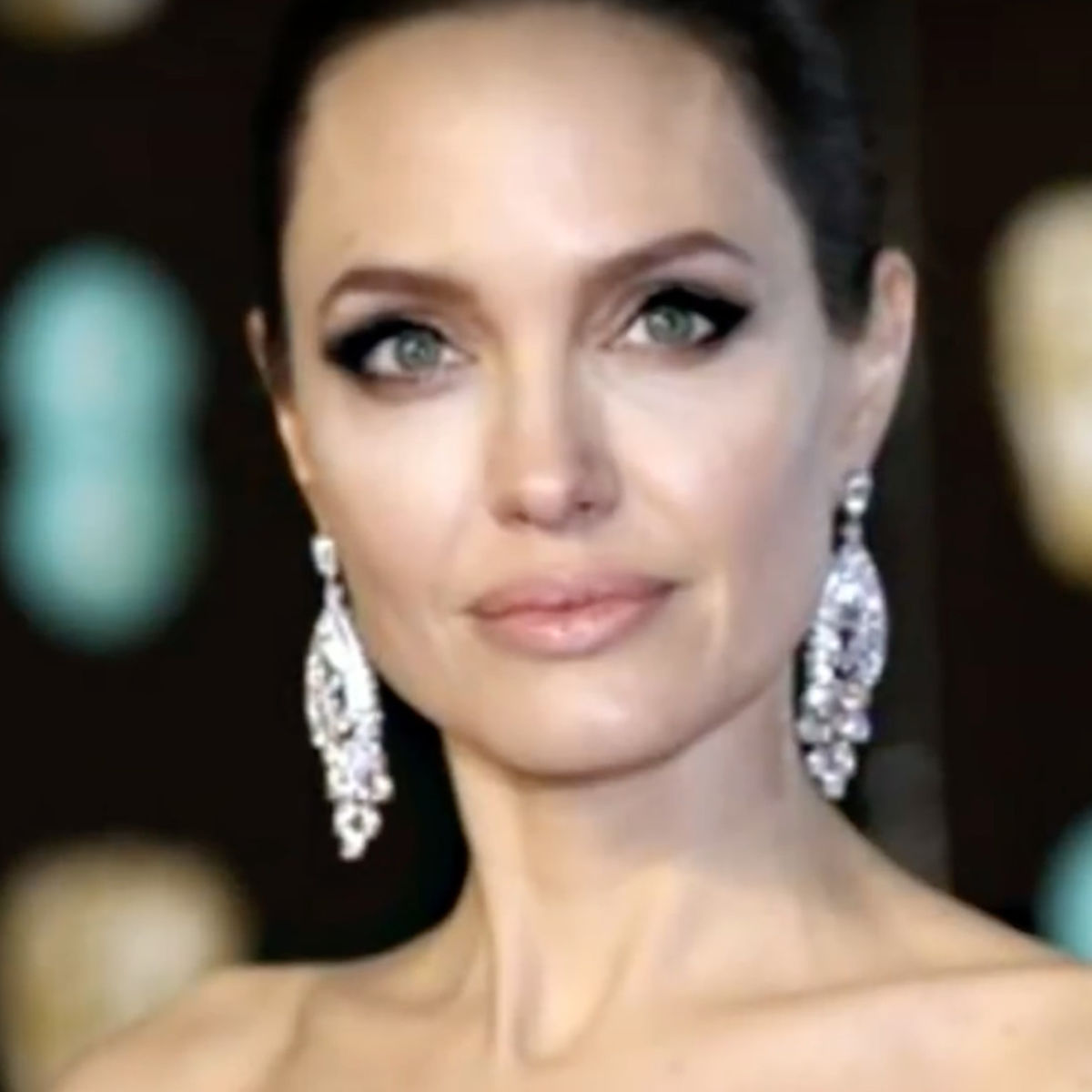 Angelina Jolie- 2018 Baftas Red Carpet
