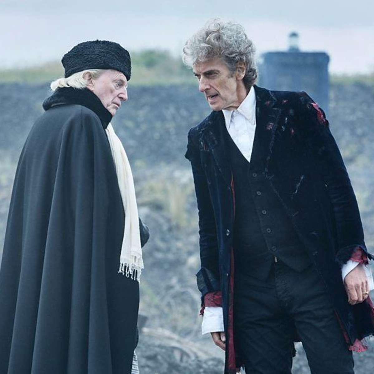 Capaldi says Doctor Who appeals broadly because \'it\'s about death ...