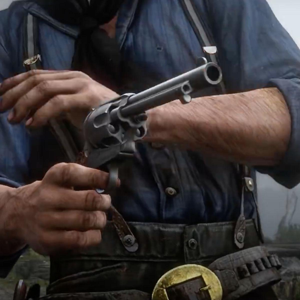 Red Dead Redemption 2- Trailer image (gun closeup_