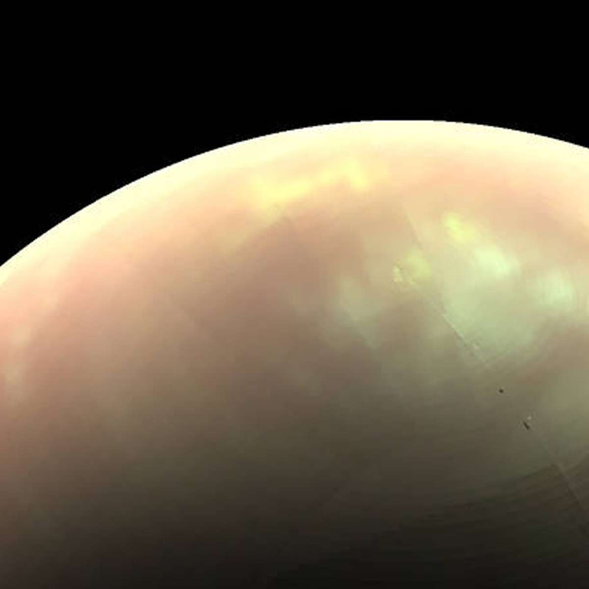 NASA image of Saturn's moon Titan