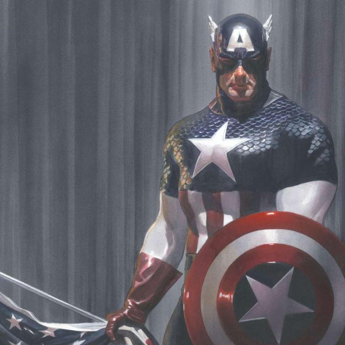 captain america ross