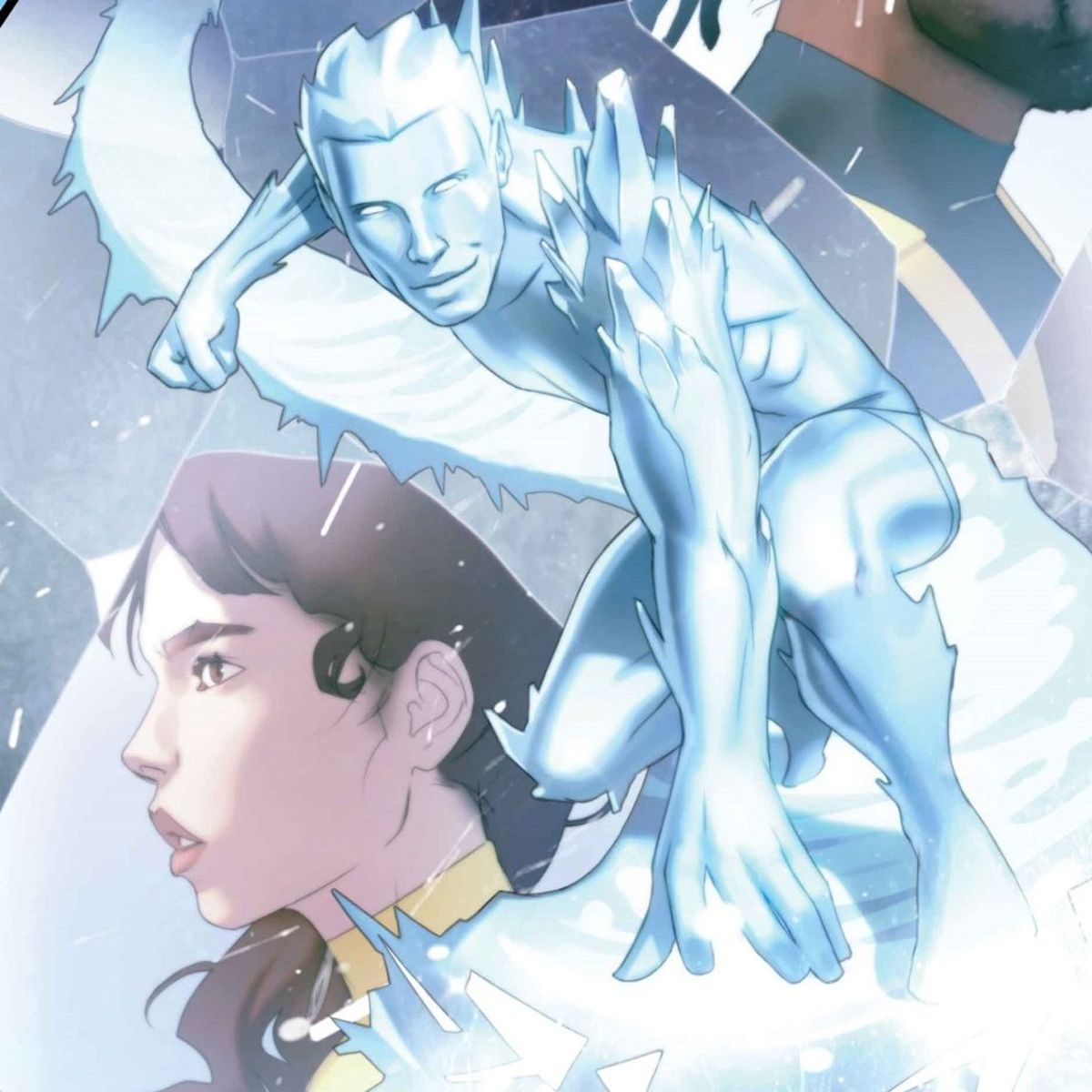 Iceman Cover - Marvel