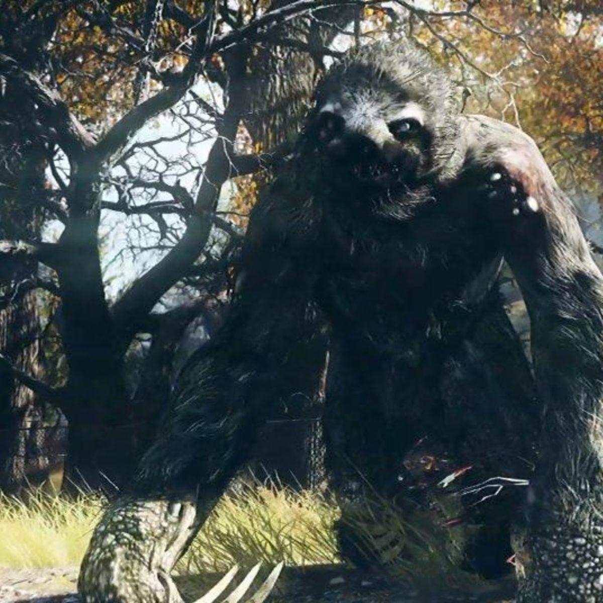 Giant Mutated Sloth