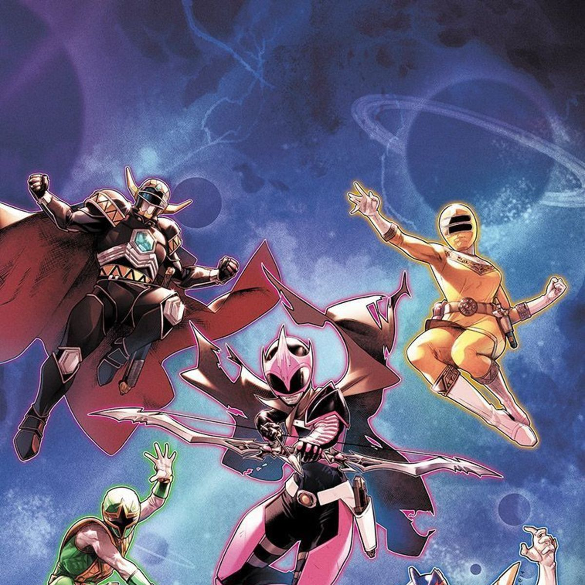 power rangers 31 new team