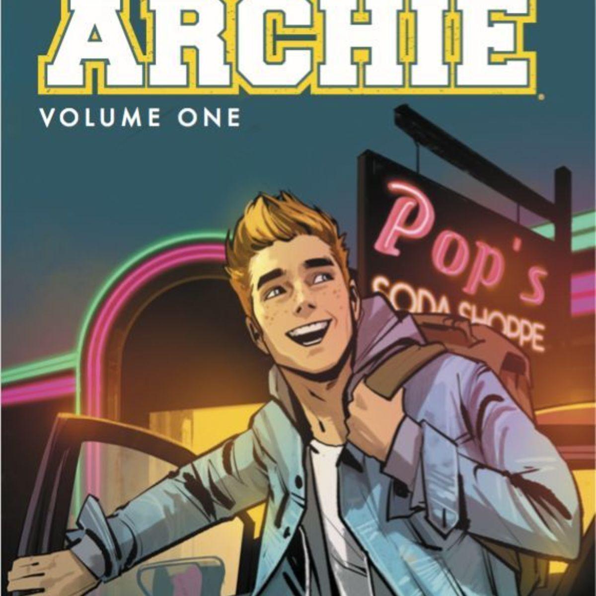 Archie Comics- Volume 1 cover (Waid/Staples)