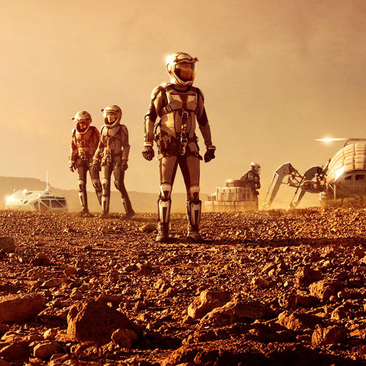 Mars Nat Geo