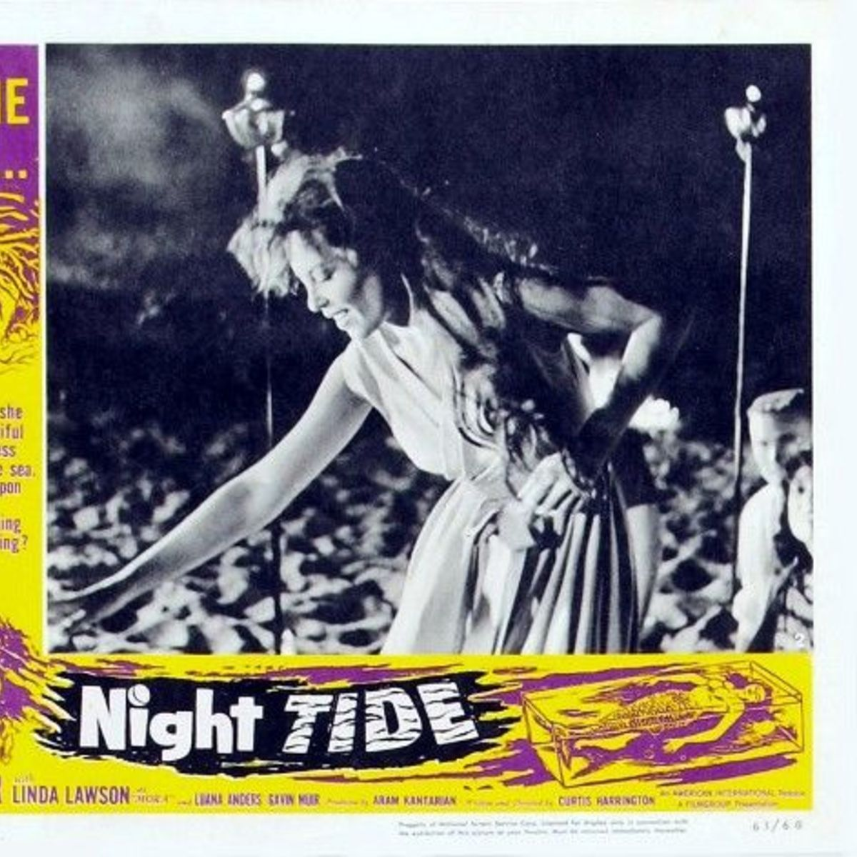 Night Tide Lobby Card