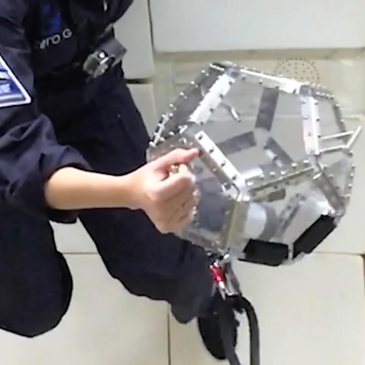 Telemetron space instrument