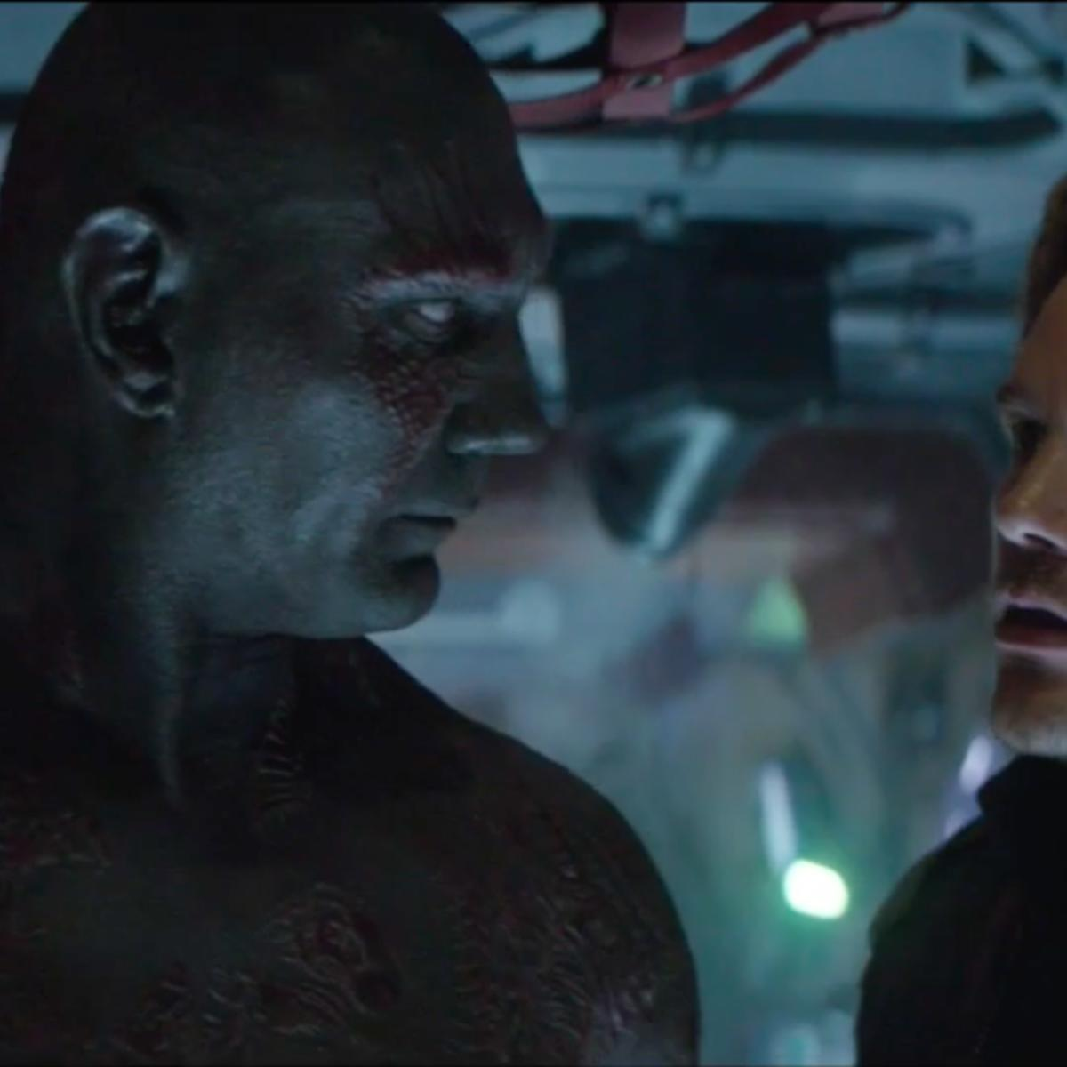 DRAX Takes on ACE FREHLEY in AVENGERS: INFINITY WAR Deleted Scene