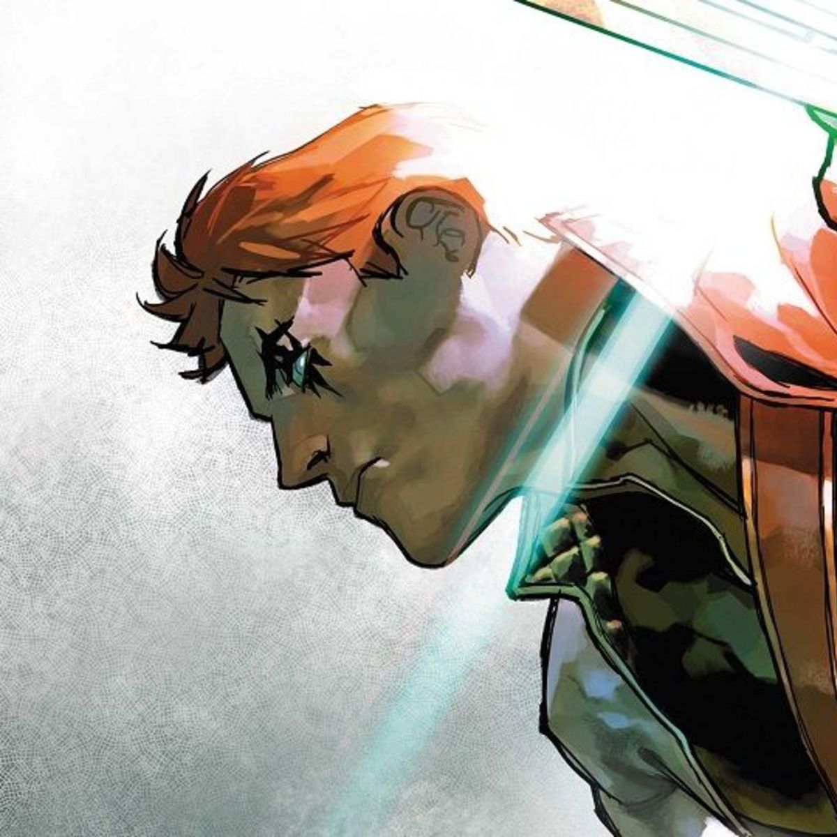 Shatterstar #1 close-up