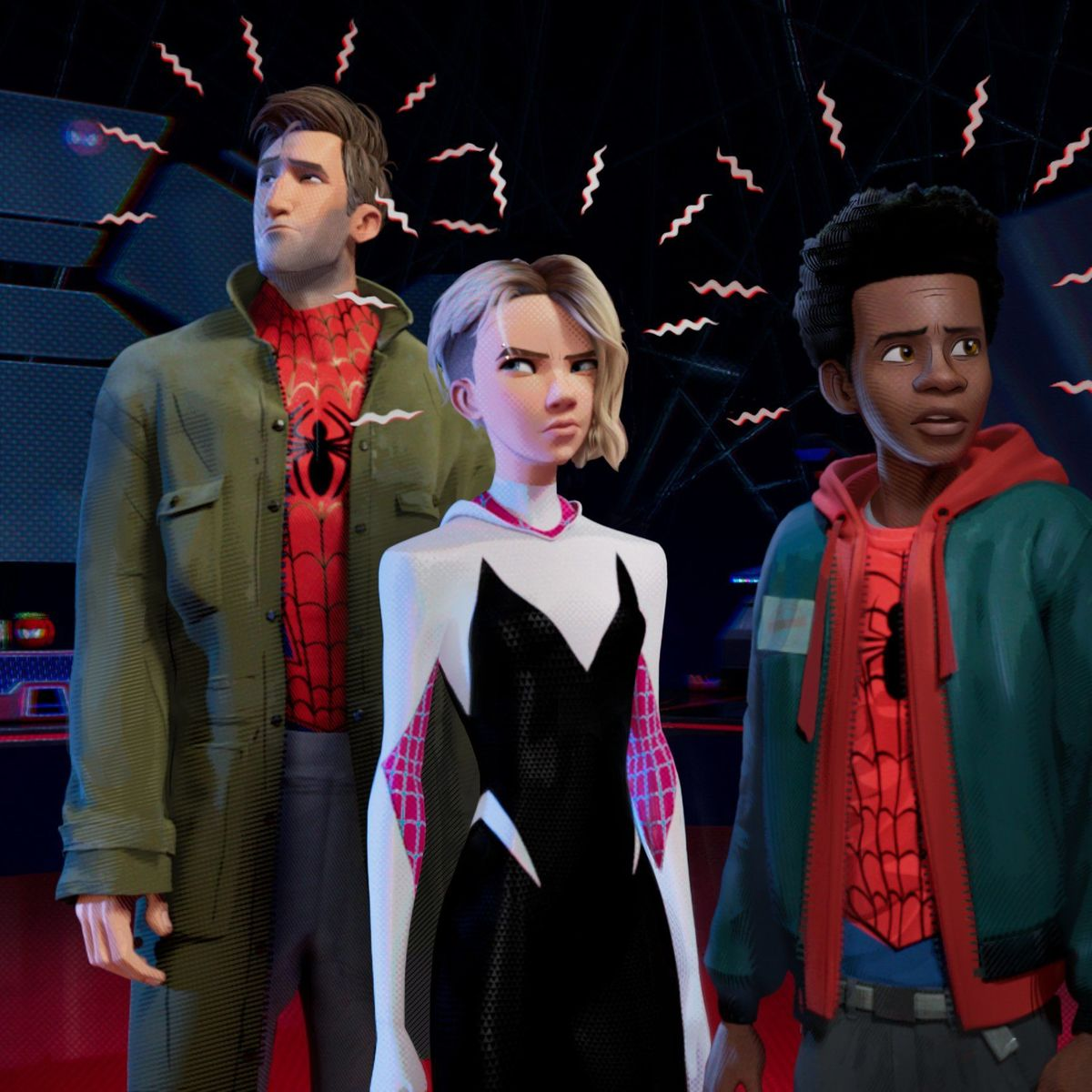 Resultado de imagen de spiderman into the spider verse sdcc