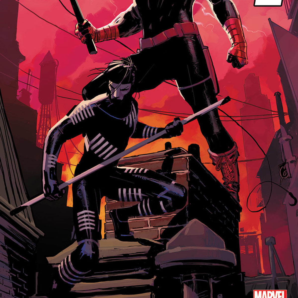 Daredevil #1 with Blindspot Ron Garney