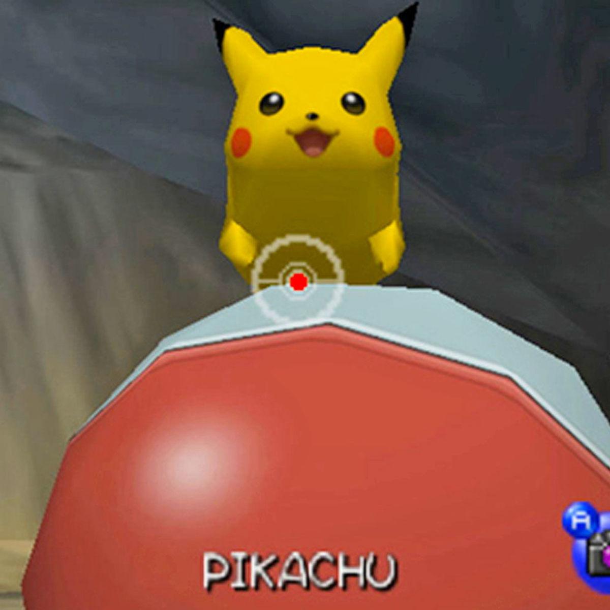 Pikachu pokemon snap