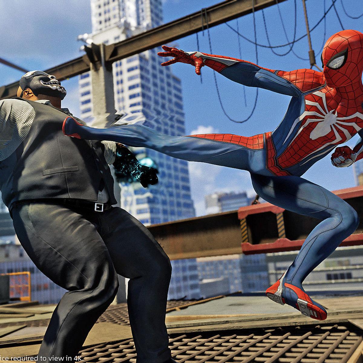 Spider-Man - Kick
