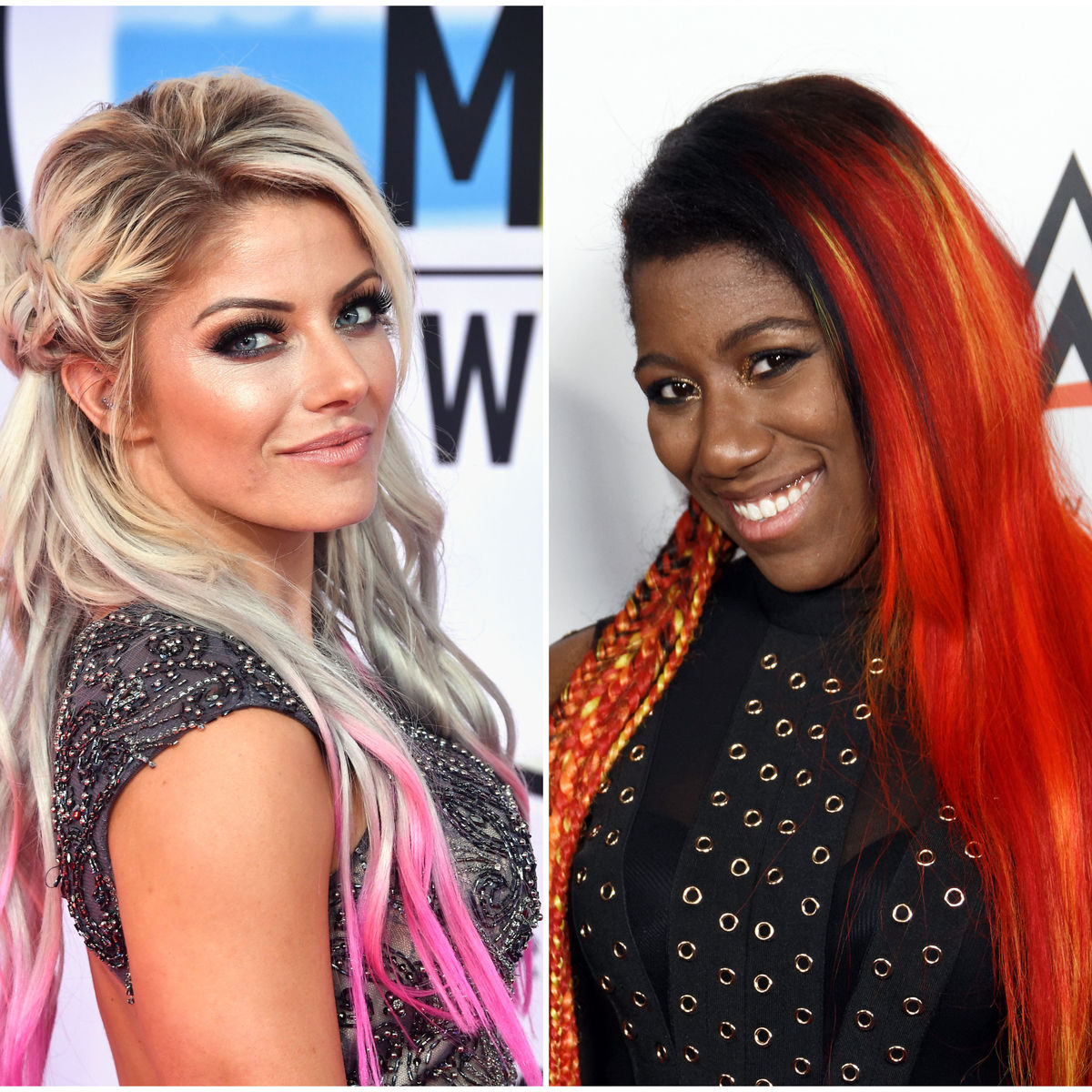 Alexa Bliss and Ember Moon