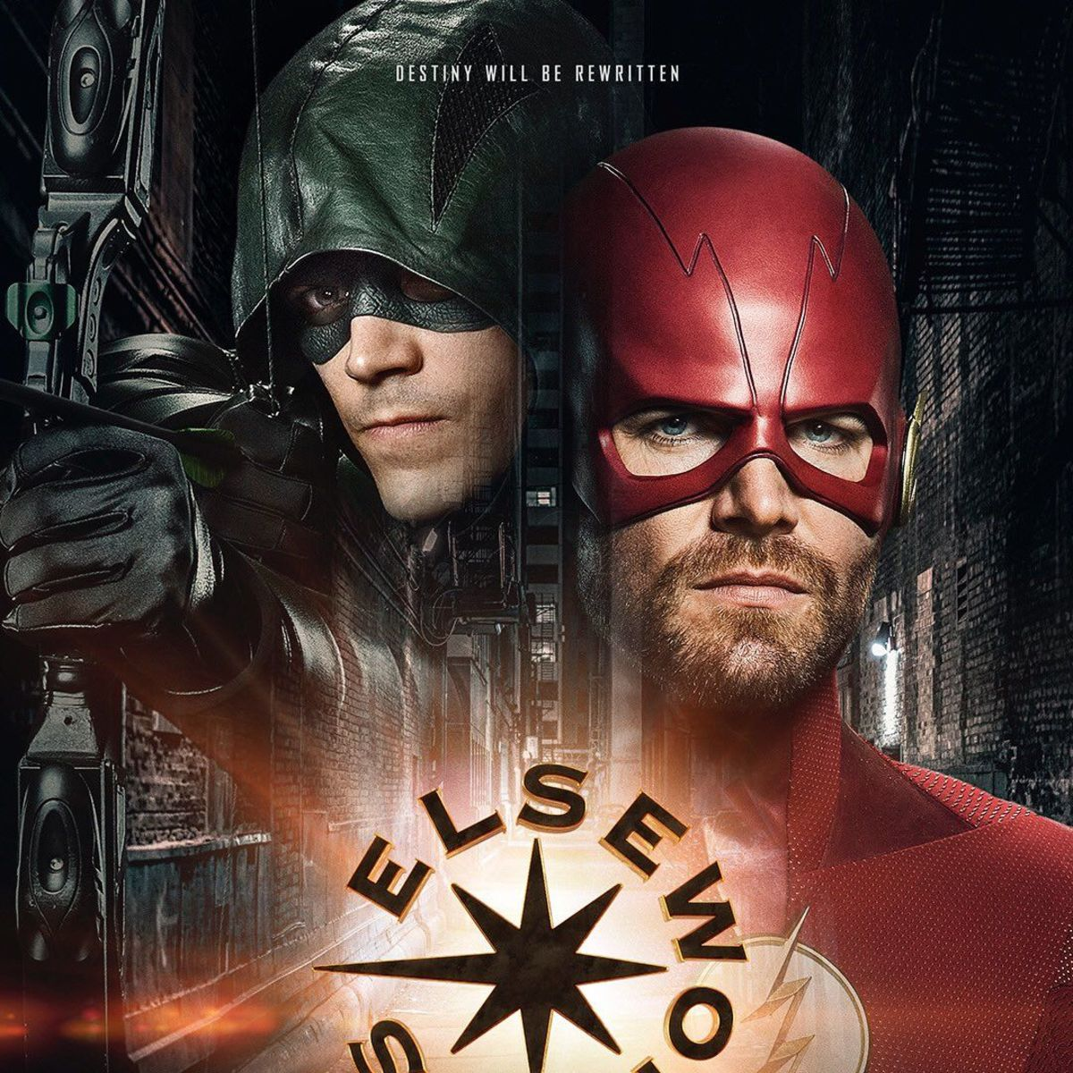 Arrowverse Elseworlds poster
