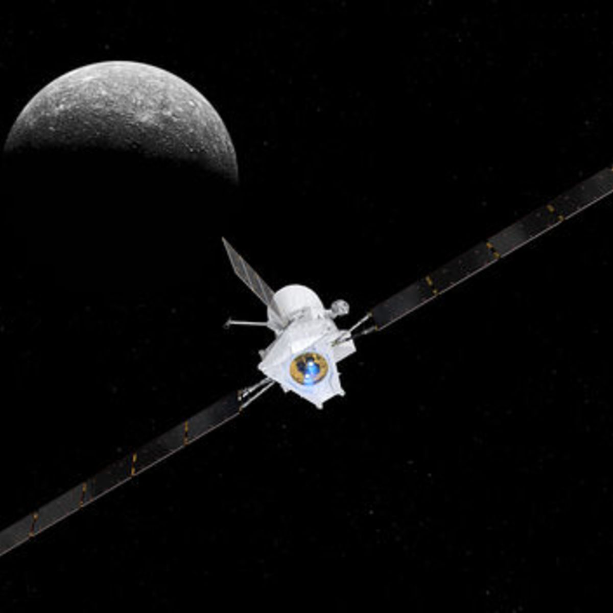 BepiColombo Spacecraft Starts Seven-Year Journey to Mercury