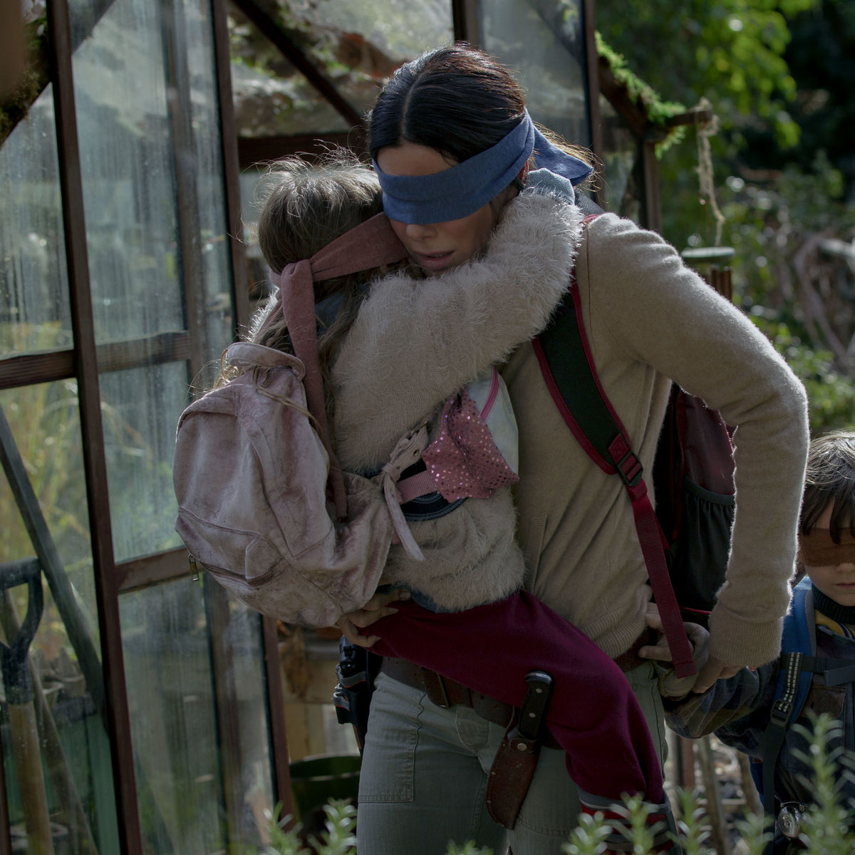 Sandra Bullock Fights Off The Apocalypse Blindfolded In Tense 'Bird Box' Trailer