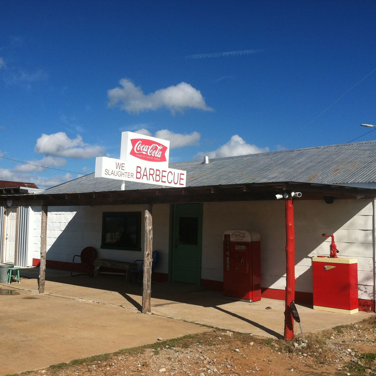 the texas chain saw massacre gas station