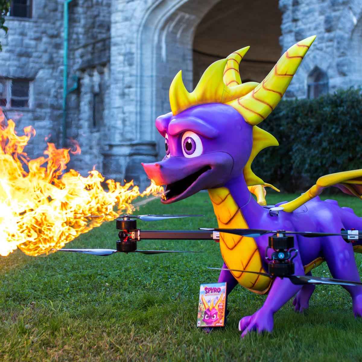 Spyro drone