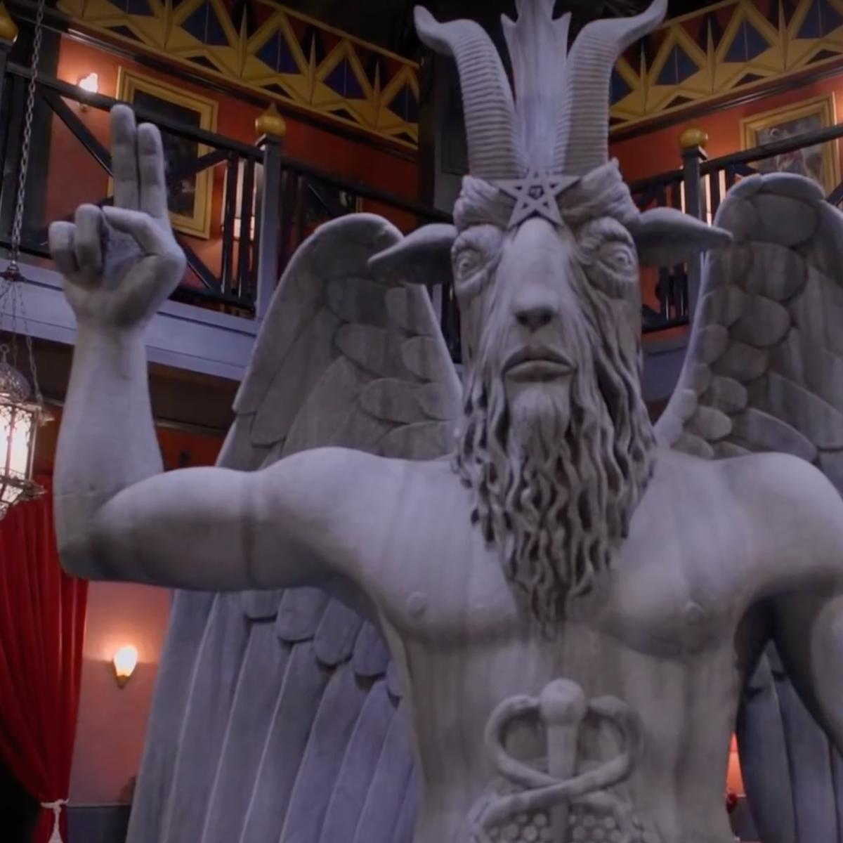 Satanic Temple claims Netflix show stole statue design, vows legal action