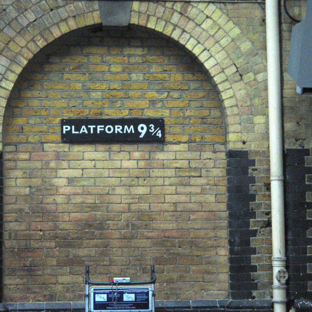 Platform 9 and three-quarters