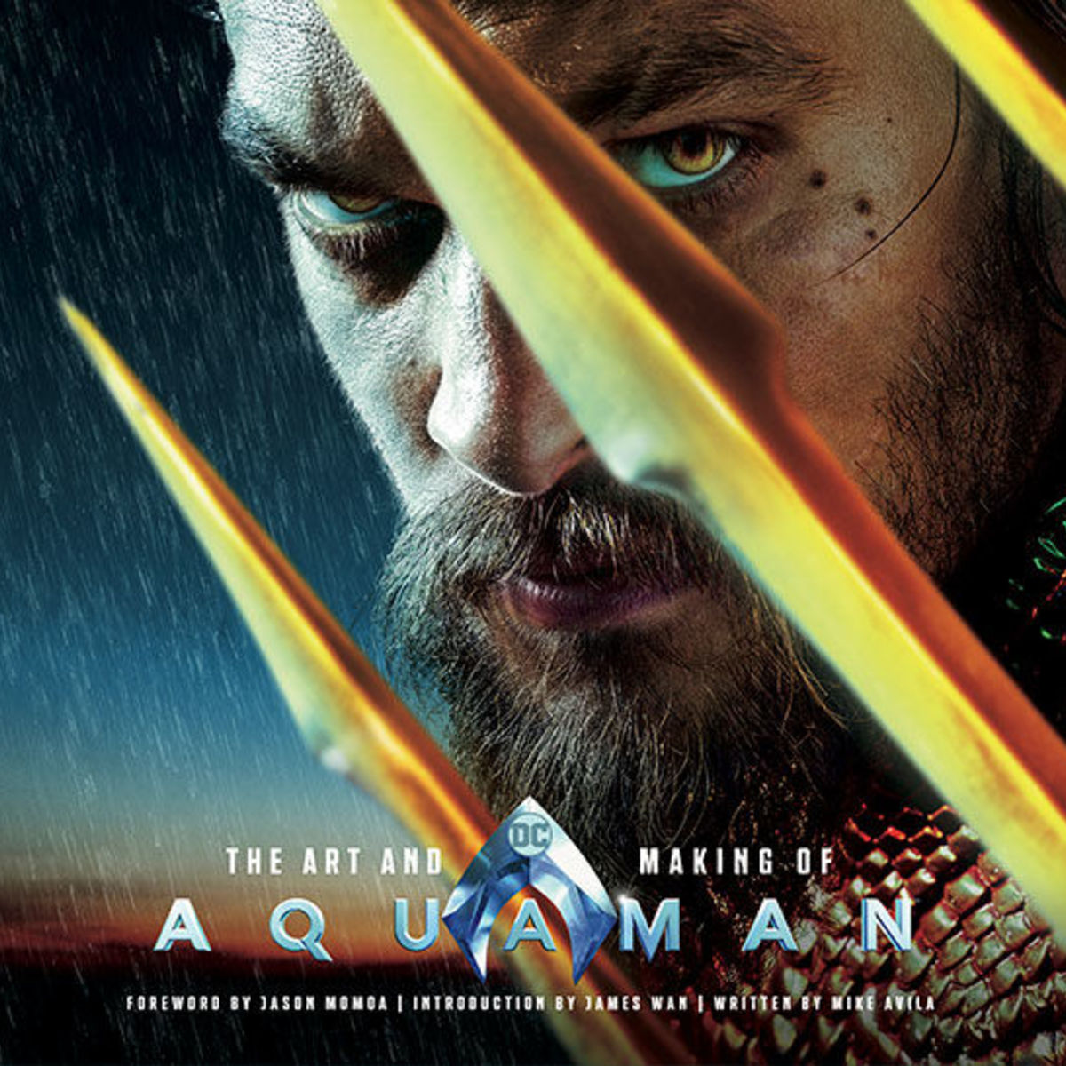 The Art and Making of Aquaman front cover