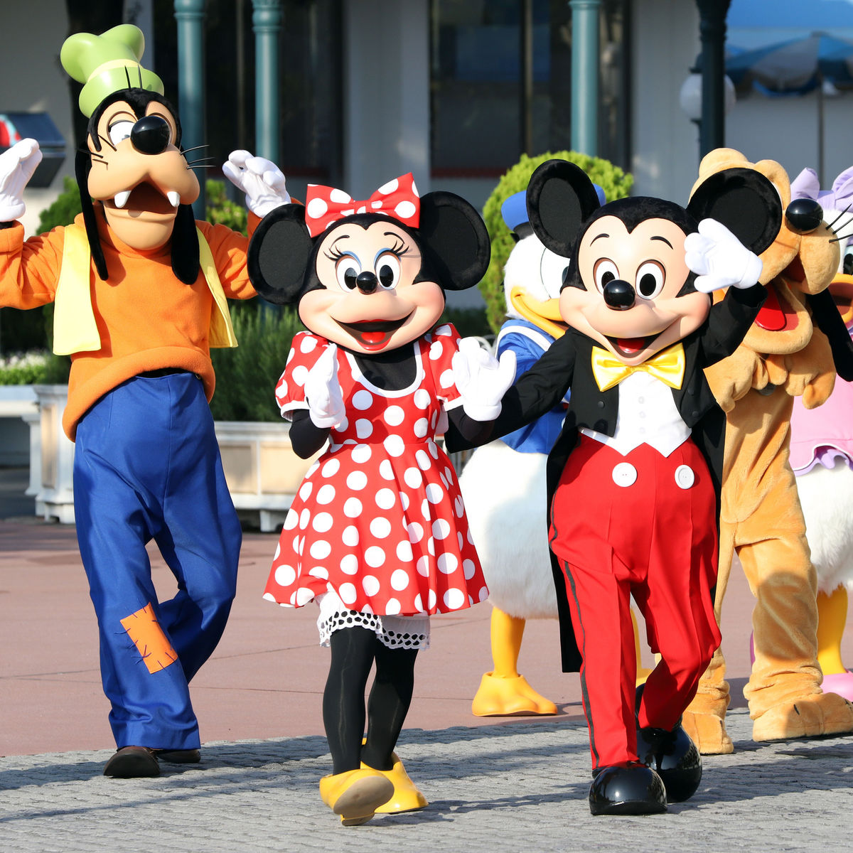 Mickey Mouse Minnie Mouse Goofy
