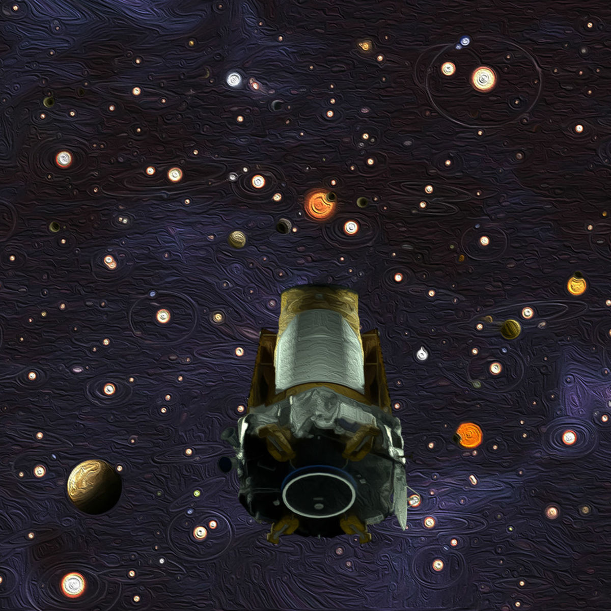 These were the voyages of the Kepler space telescope
