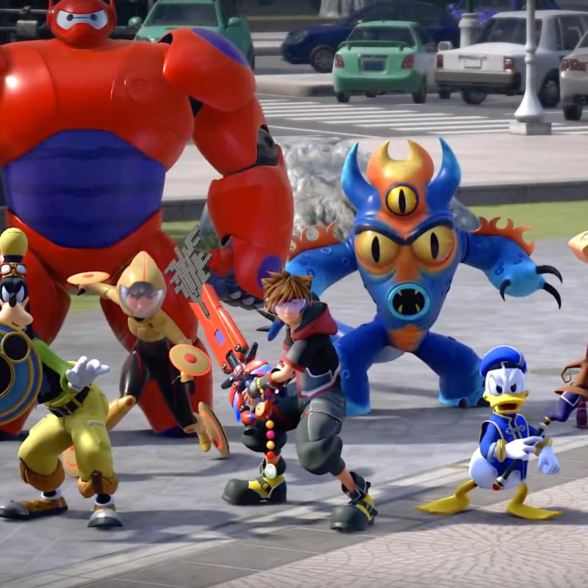 Get Together with Kingdom Hearts III Latest Trailer