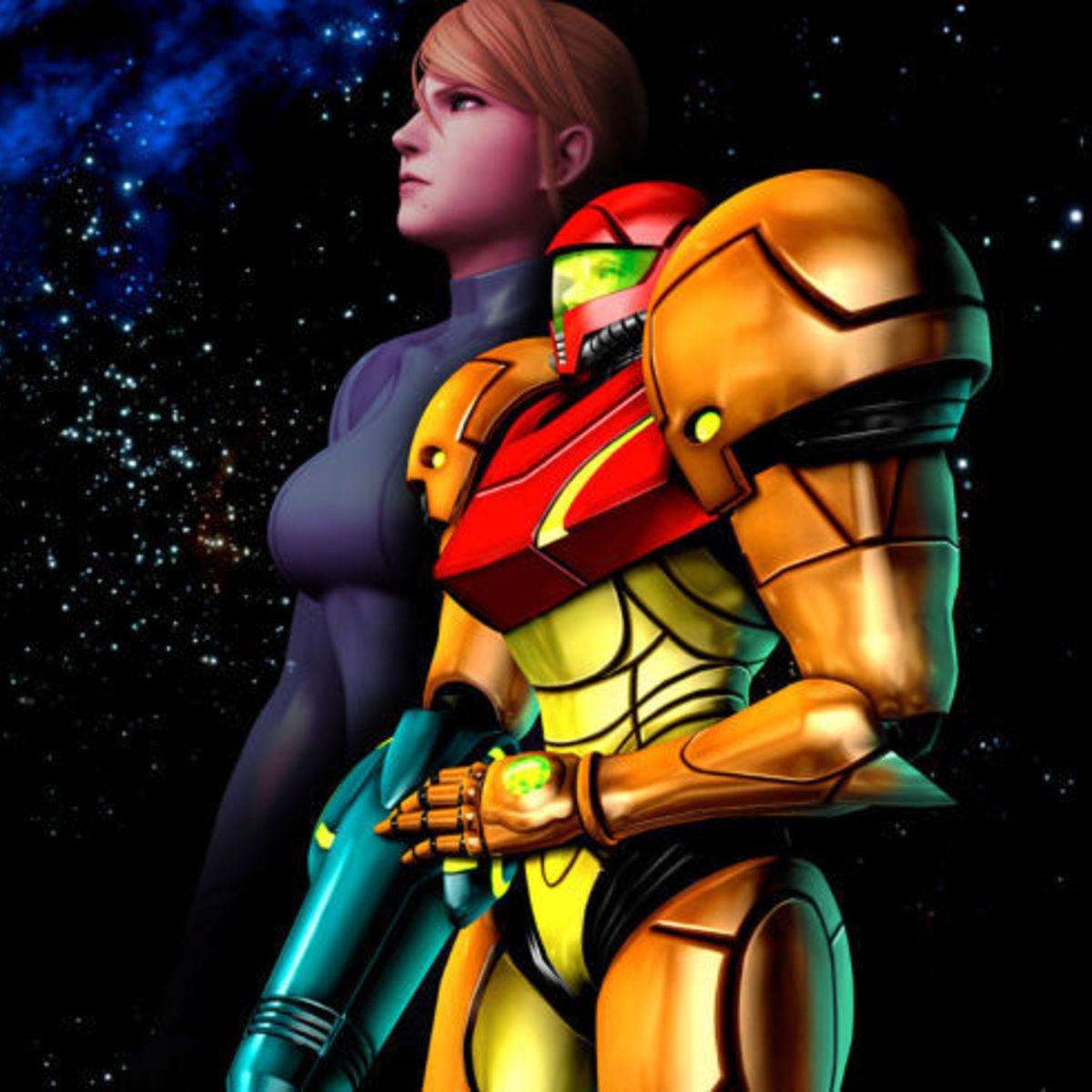 Metroid - Samus Aran