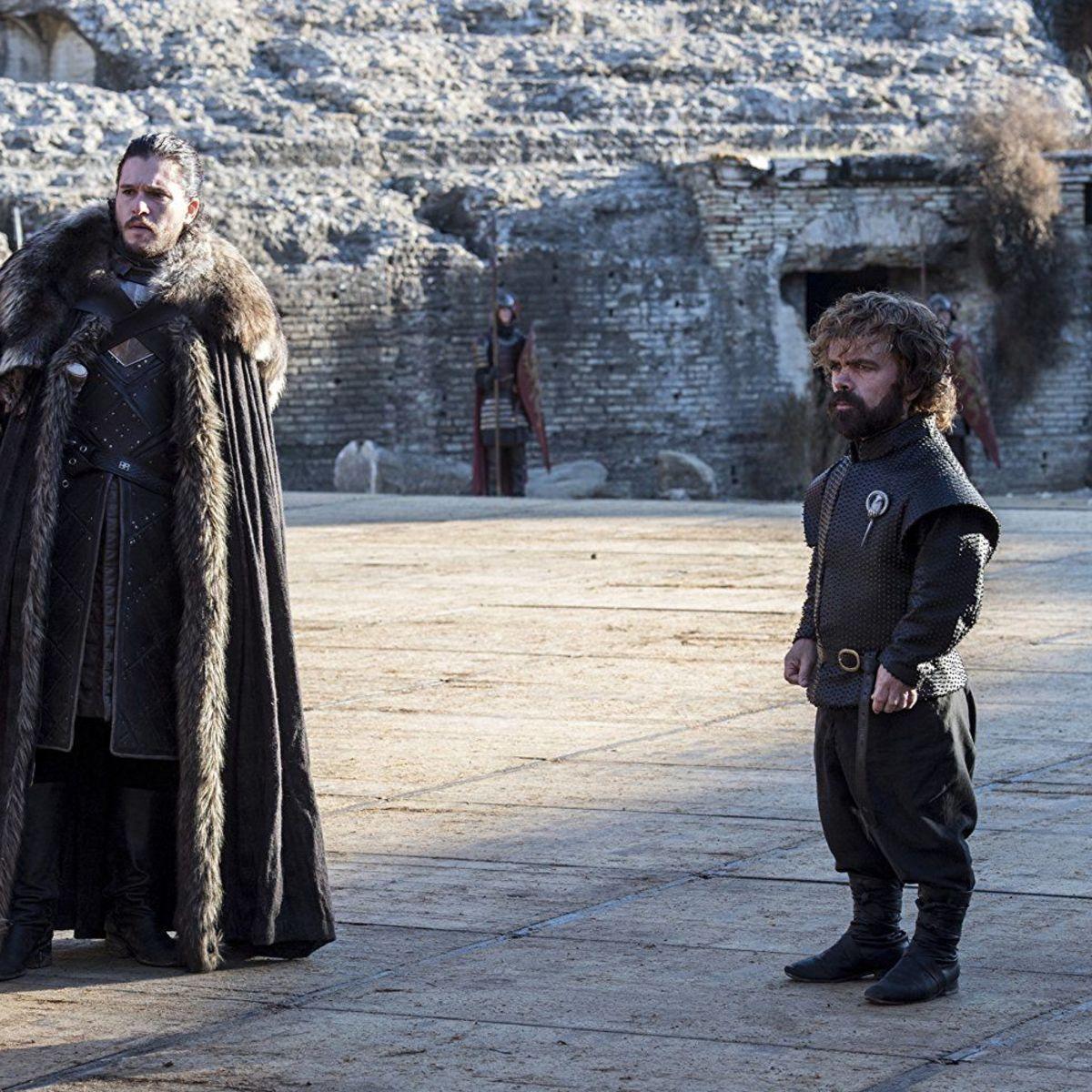 Game of Thrones Kit Harrington Peter Dinklage